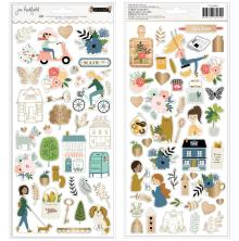 Jen Hadfield Cardstock Stickers 6X12 80/Pkg - The Avenue Icons