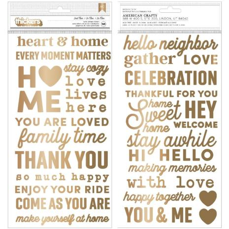 Jen Hadfield The Avenue Thickers Stickers 5.5X11 - Phrase