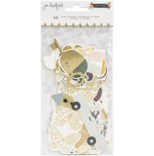 Jen Hadfield Ephemera Cardstock Die-Cuts 40/Pkg - The Avenue Icons