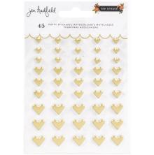 Jen Hadfield Puffy Stickers 30/Pkg - The Avenue Hearts