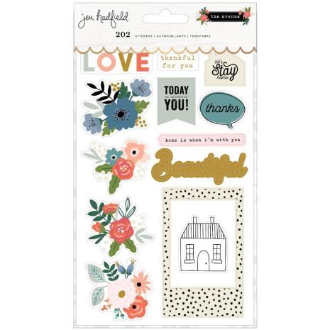 Jen Hadfield Sticker Book 202/Pkg - The Avenue
