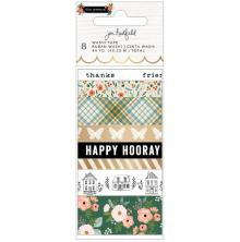 Jen Hadfield Washi Tape 8/Pkg - The Avenue