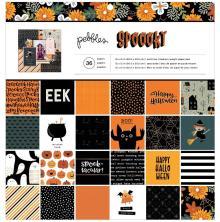 Pebbles Paper Pad 12X12 36/Pkg - Spoooky