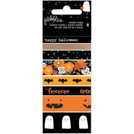Pebbles Washi Tape 8/Pkg - Spoooky
