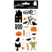 Pebbles Puffy Stickers 23/Pkg - Spoooky Icons