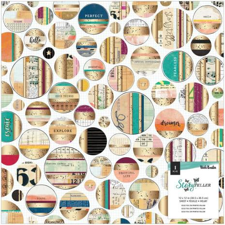 Vicki Boutin Vellum Specialty Paper 12X12 - Storyteller