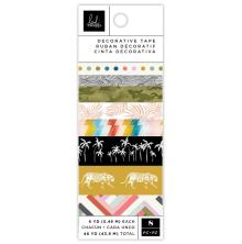 Heidi Swapp Washi Tape Rolls 8/Pkg - Old School