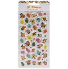 Amy Tangerine Mini Puffy Stickers 55/Pkg - Late Afternoon