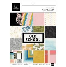 Heidi Swapp Single-Sided PaperPad 6X6 36/Pkg - Old School