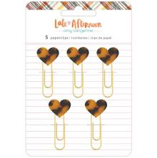 Amy Tangerine Paper Clips - Late Afternoon