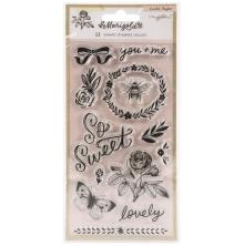 Maggie Holmes Acrylic Clear Stamps 13/Pkg - Marigold