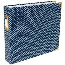 Project Life D-Ring Album 12X12 - Navy Weave