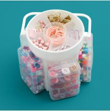 We R Memory Keepers Craft Caddy Translucent Plastic Storage