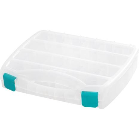 We R Memory Keepers Divider Box Translucent Plastic Storage