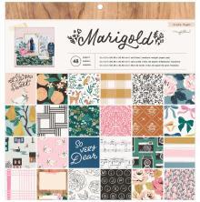 Maggie Holmes Paper Pad 12X12 48/Pkg - Marigold