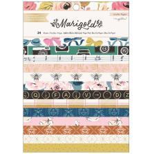 Maggie Holmes Card Making Pad 6X8 24/Pkg - Marigold