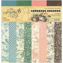 Graphic 45 Double-Sided Paper Pad 12X12 - Woodland Friends