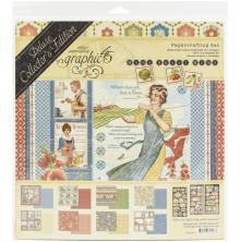 Graphic 45 Deluxe Collectors Edition Pack 12X12 - Home Sweet Home