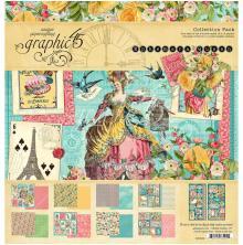 Graphic 45 Collection Pack 12X12 - Ephemera Queen