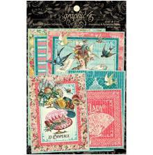 Graphic 45 Ephemera & Journaling Cards - Ephemera Queen