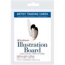 Strathmore Artist Trading Cards 2.5X3.5 5/Pkg - Illustration Board Vellum