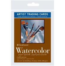 Strathmore Artist Trading Cards 2.5X3.5 5/Pkg - Watercolor