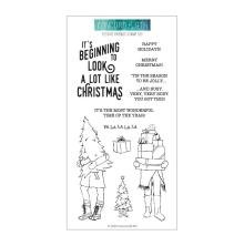 Concord & 9th Clear Stamps 4X8 - Festive Friends