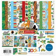 Carta Bella Collection Kit 12X12 - Zoo Adventure