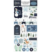 Carta Bella Winter Market Chipboard 6X13 - Accents
