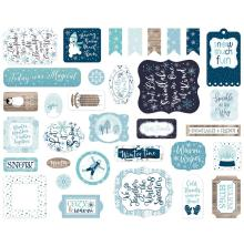 Echo Park Winter Magic Cardstock Die-Cuts 33/Pkg - Icons