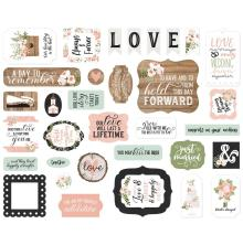 Echo Park Our Wedding Cardstock Die-Cuts 33/Pkg - Icons