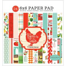 Carta Bella Double-Sided Paper Pad 6X6 - Farm To Table