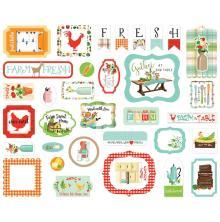 Carta Bella Farm To Table Cardstock Die-Cuts 33/Pkg - Icons
