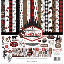 Echo Park Collection Kit 12X12 - Lets Lumberjack