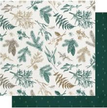 Kaisercraft Emerald Eve Double-Sided Cardstock 12X12 - Christmas Pine