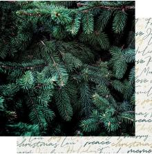 Kaisercraft Emerald Eve Double-Sided Cardstock 12X12 - Evergreen