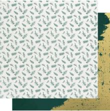 Kaisercraft Emerald Eve Double-Sided Cardstock 12X12 - Fir Sprigs