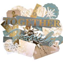 Kaisercraft Collectables Cardstock Die-Cuts - Emerald Eve Sentiments