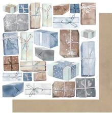 Kaisercraft Whimsy Wishes Double-Sided Cardstock 12X12 - Wrapped Up
