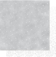 Kaisercraft Whimsy Wishes Double-Sided Cardstock 12X12 - Falling Snow