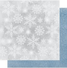Kaisercraft Whimsy Wishes Double-Sided Cardstock 12X12 - Snowfall