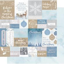 Kaisercraft Whimsy Wishes Double-Sided Cardstock 12X12 - Warm Wishes