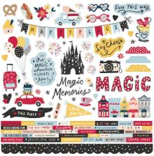 Simple Stories Sticker Sheet 12X12 - Say Cheese Main Street