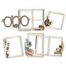 Simple Stories Layered Frames 6/Pkg - Simple Vintage Ancestry