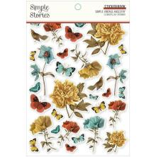 Simple Stories Sticker Book 4X6 12/Pkg - Simple Vintage Ancestry