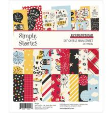 Simple Stories Double-Sided Paper Pad 6X8 - Say Cheese Main Street