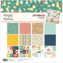 Simple Stories Simple Sets Collection Kit 12X12 - Quarantined