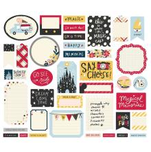 Simple Stories Bits & Pieces Die-Cuts 39/Pkg - Say Cheese Main Street Journal
