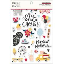Simple Stories Sticker Book 4X6 12/Pkg - Say Cheese Main Street