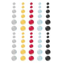 Simple Stories Enamel Dots 60/Pkg - Say Cheese Main Street
